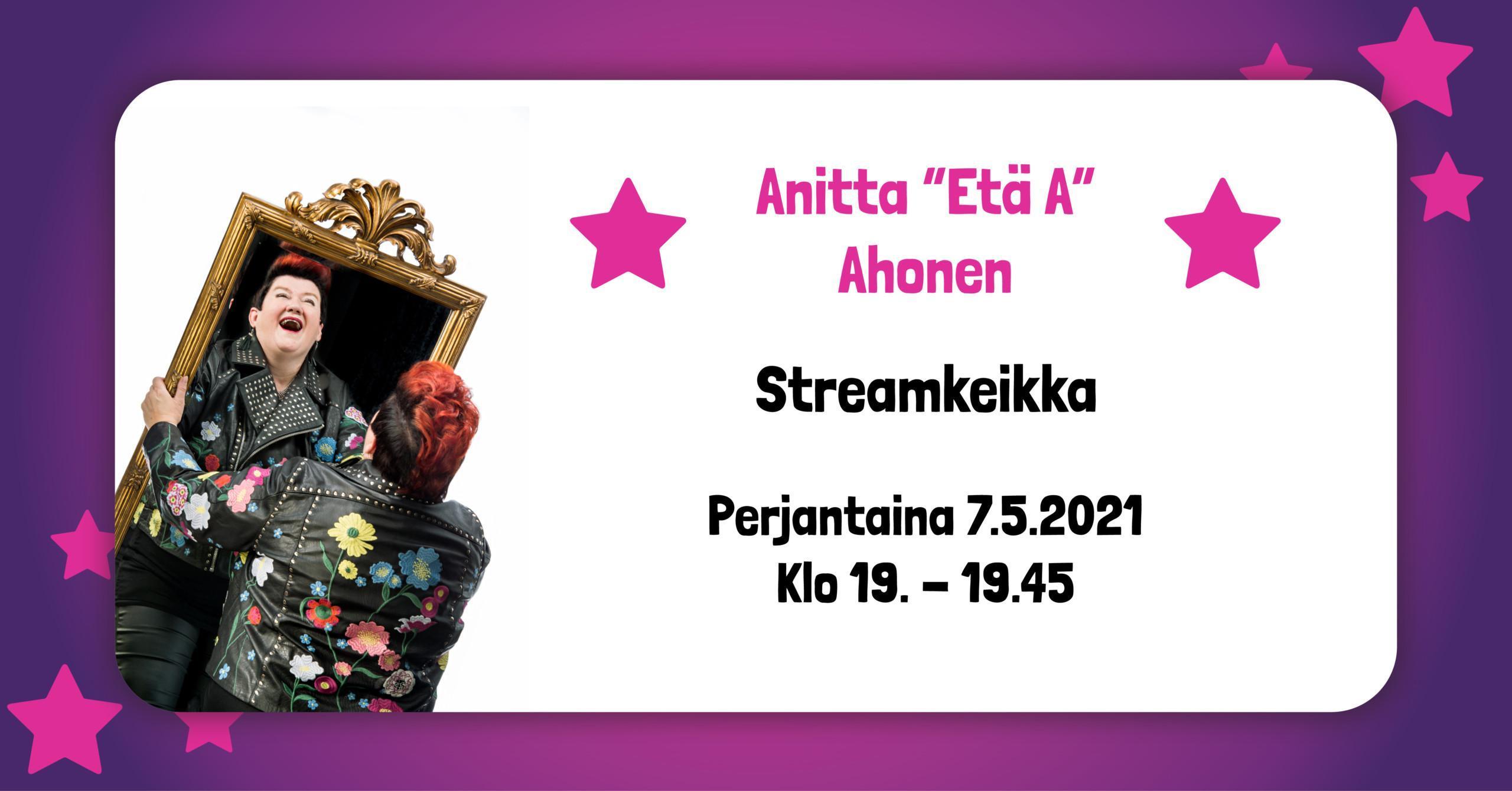 Anitta Etä A Ahonen